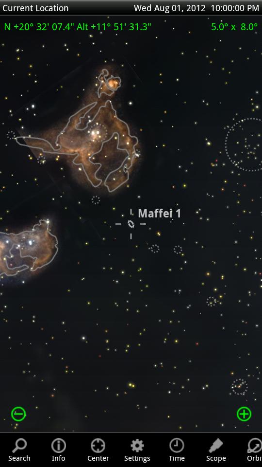 Maffei 1 Galaxy Maffei 1 Centered in