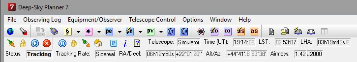 Telescope Control Software